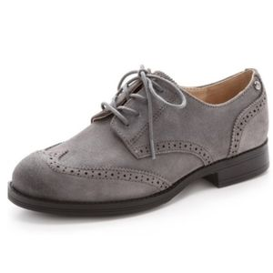 Sam Edelman Gray Irving Lace Up Oxford Shoes